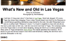 What's New & Old in Las Vegas