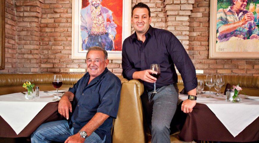 Freddie Glusman and-Evan Glusman of Piero's Italian Cuisine Restaurant