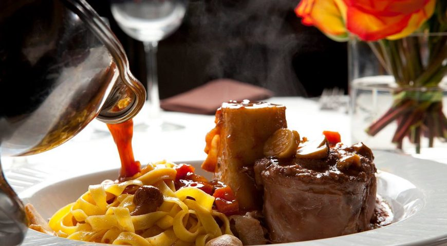 The Osso Buco is a highly recommended Piero's favorite by Freddie Glusman