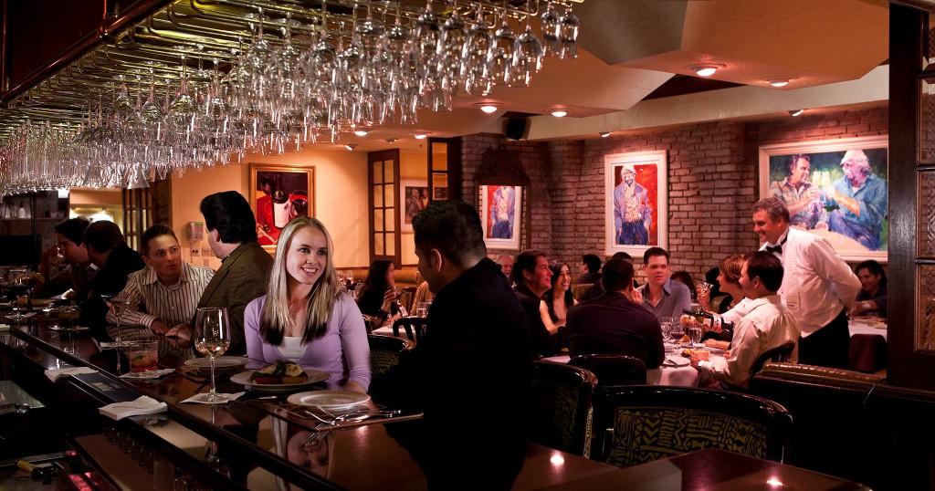 Piero's is a Las Vegas favorite restaurant spot for locals and public figures