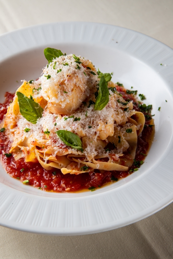 vegetarian pappardelle pasta