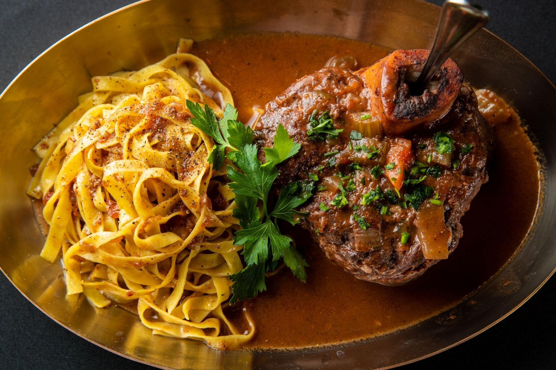 Piero's is Las Vegas' best italian food largely due to our world famous Osso Bucco.